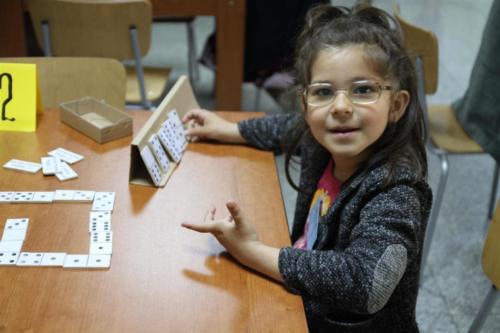 Валя е на 4 годинки и беше най-малкия участник в турнира