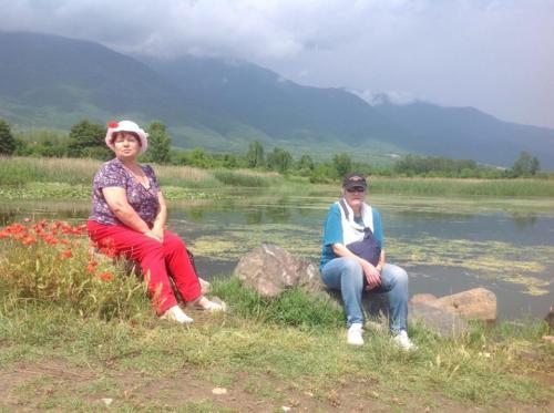 Рупите и езерото Керкини.