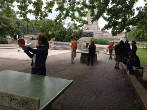 Turnir po tenis na masa